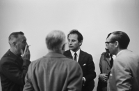 Vernissage 1967 Paul De Vree, Julien Schoenaerts & Jos Macken